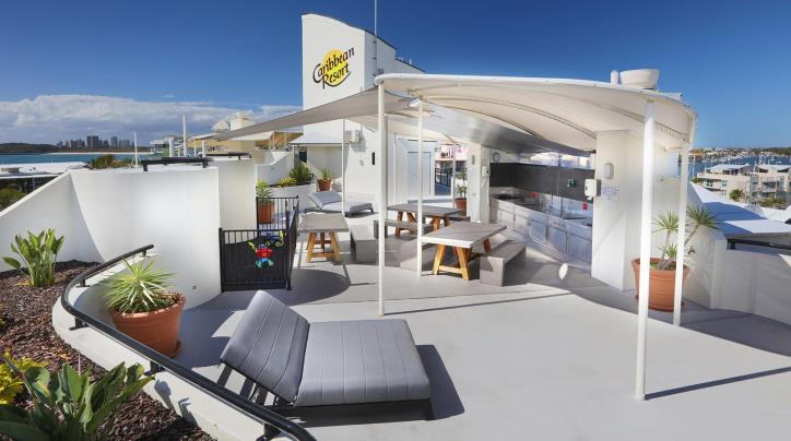 Rooftop Caribbean Resort Mooloolaba Facilities